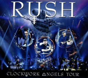 Rush's Clockwork Angels Tour cover