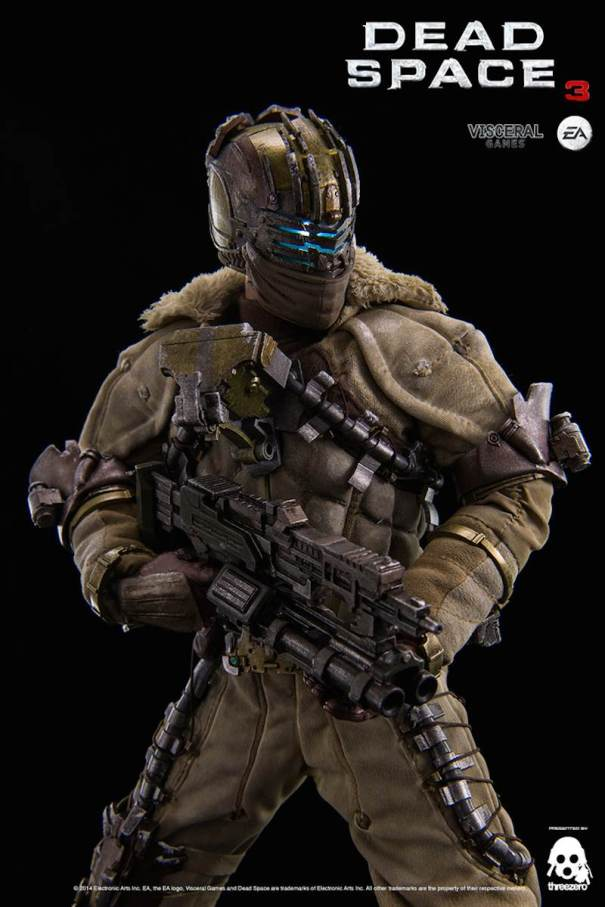 Dead Space 3 Isaac Clarke statue reg