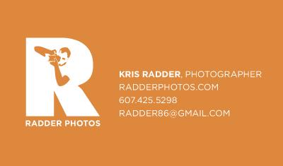 Radder Photos Business Card
