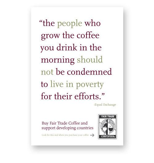 Fair Trade Coffee campaign Image 3