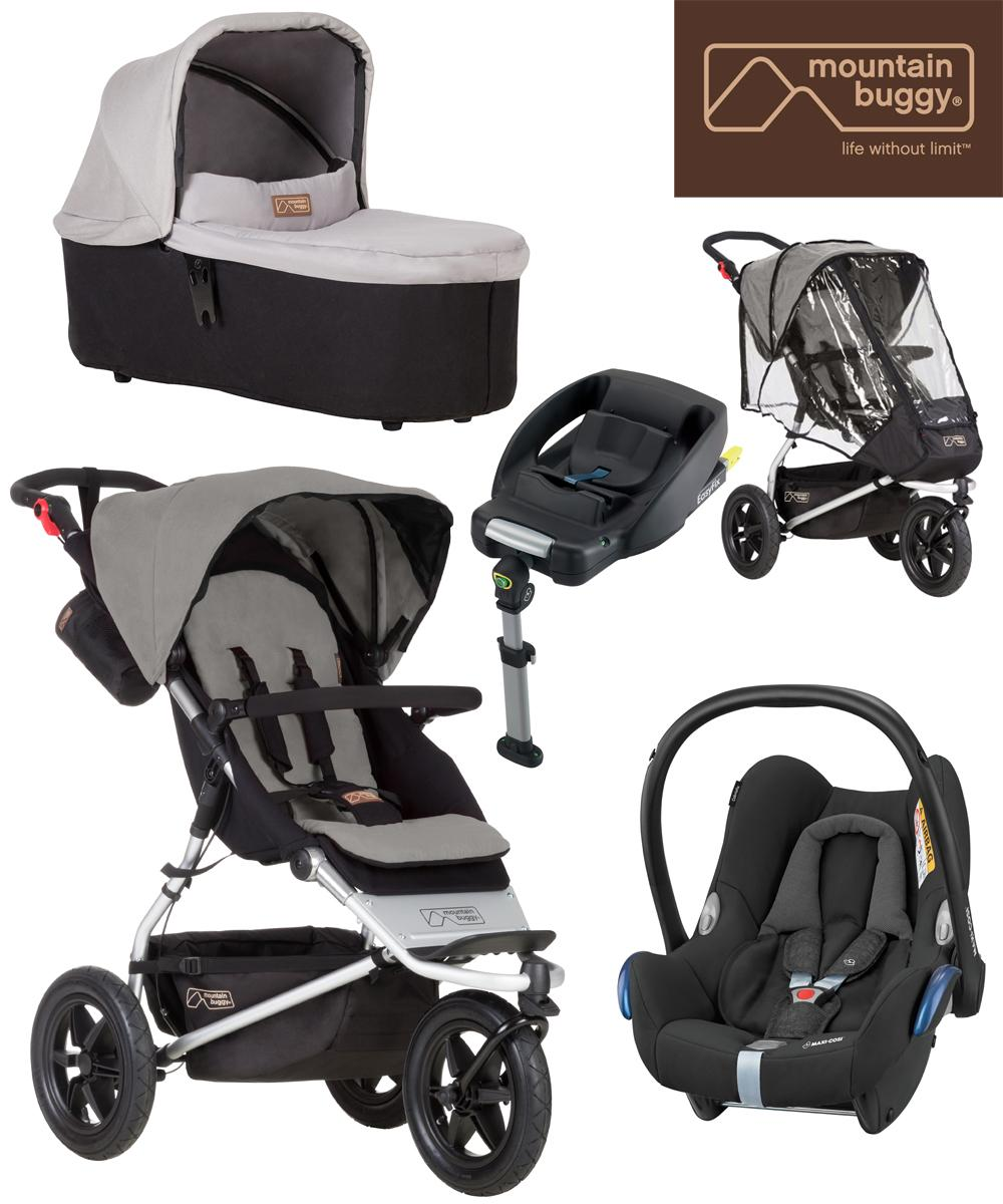 Mountain Buggy Car Seat Installation Mountain Buggy Urban Jungle Maxi Cosi Package Silver