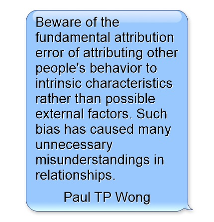 Fundamental Attribution Error DE100 Open University - Psychology - police psychologist sample resume