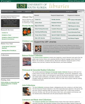 website prototype layout