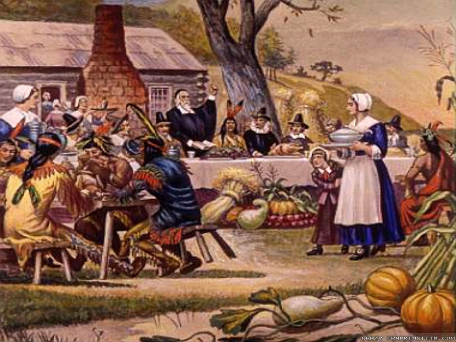 The first thanksgiving part 1 171 the literary life