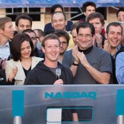 Facebook founder Mark Zuckerberg list the social media service stock
