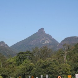 Mount Warning resort offers camping and cabin acommodation