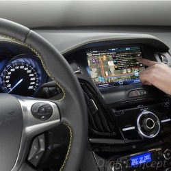 ford interior with Microsoft embedded