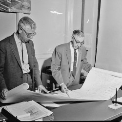 Seattle-engineers-planning-a-freeway
