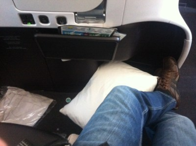 Air New Zealand premium economy legroom