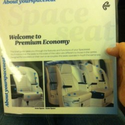 Welcome to Air New Zealand Premium economy