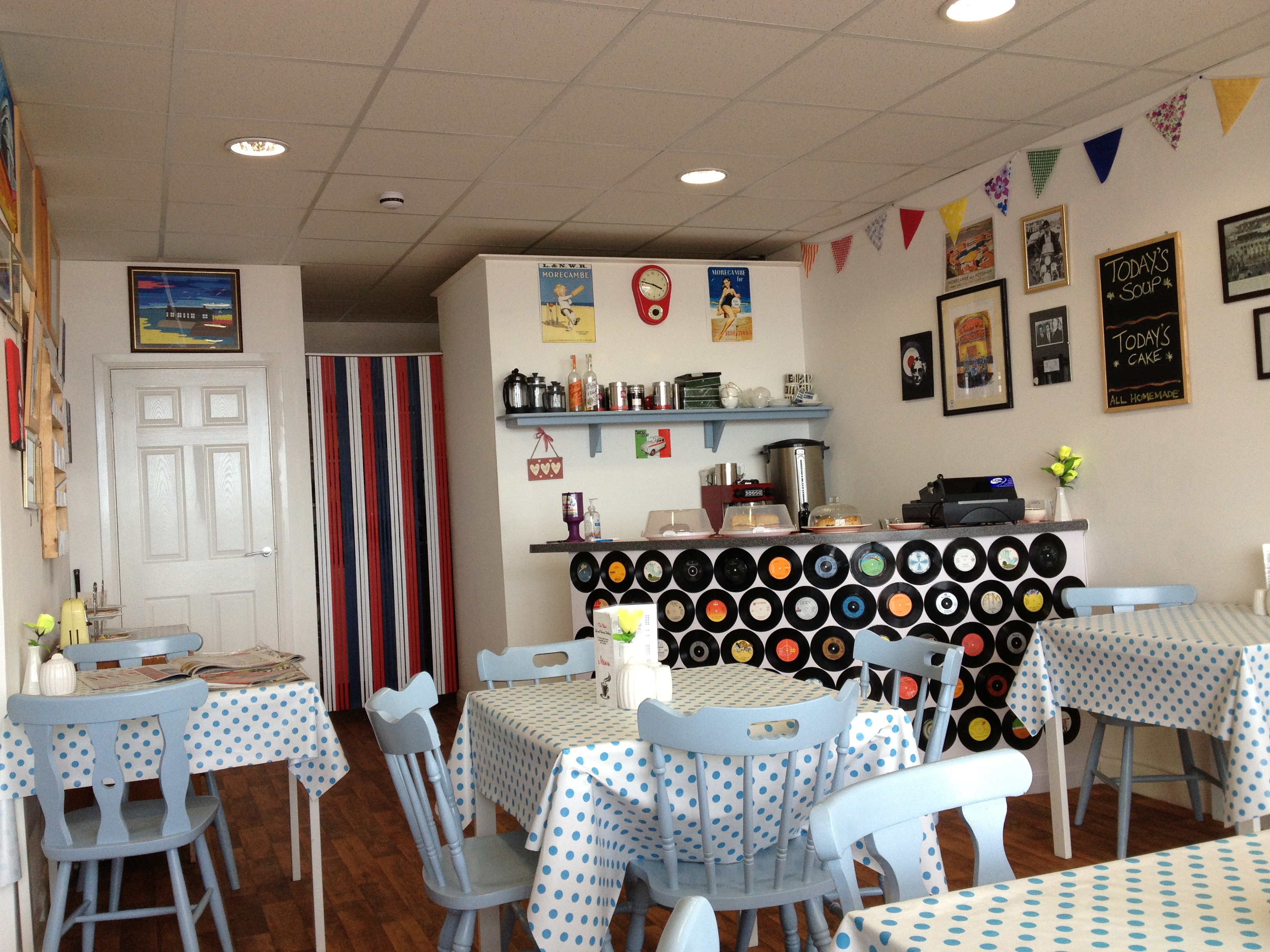 Vintage Café Morecambe Bay S The View Vintage Cafe Paupers Pocket