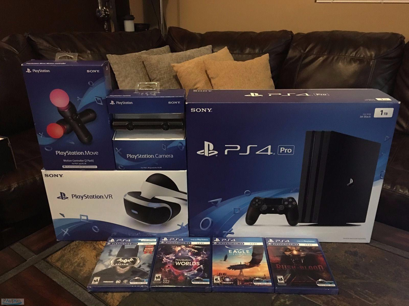 Vendo Libro Electronico Sony Vendo Sony Ps4 Pro 1tb Playstation Vr Con 7 Juegos 150