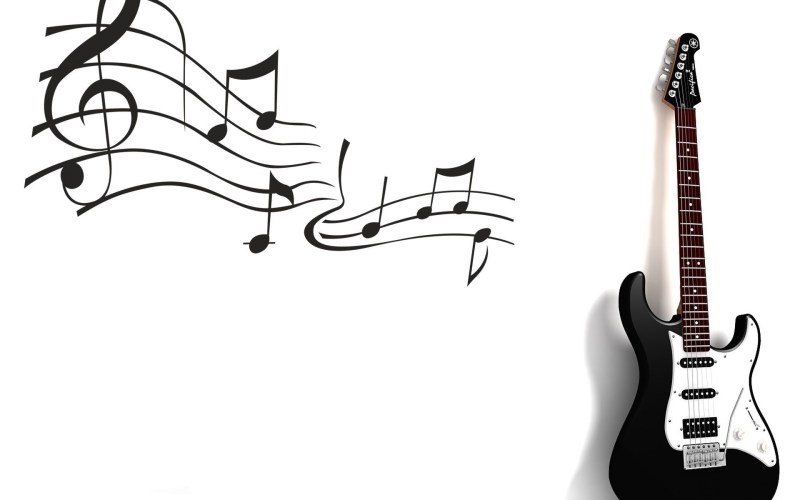 Large Of Music Notes Wallpaper