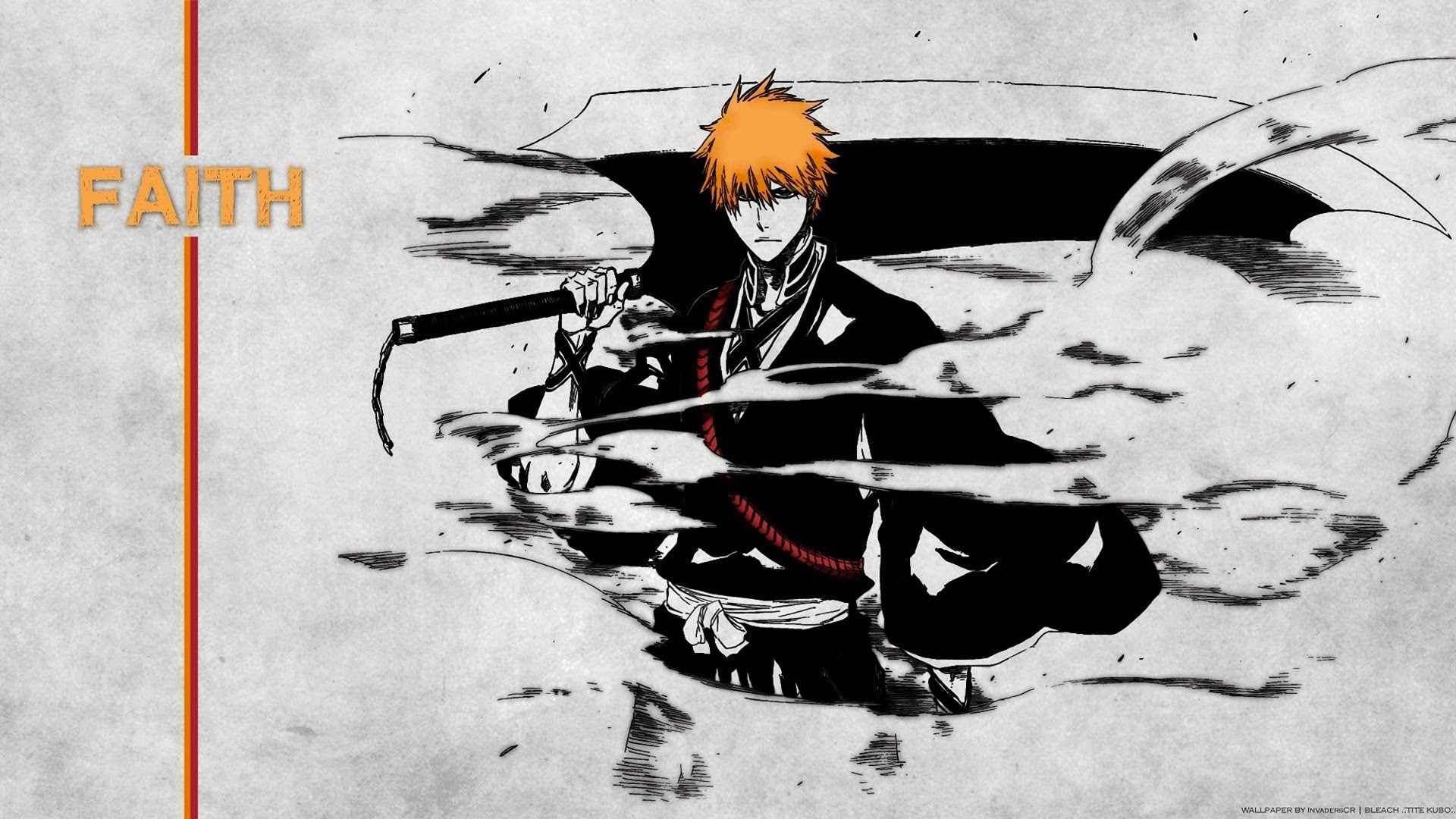 Bleach Downloads Wallpapers Bleach Ichigo Bankai 66 Background Pictures