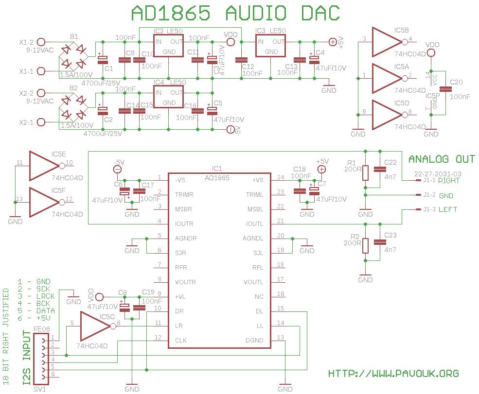 24bit version schematics diagram