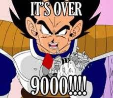 9000オーバー