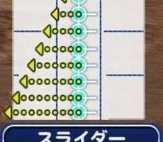 パワプロアプリ スライダー
