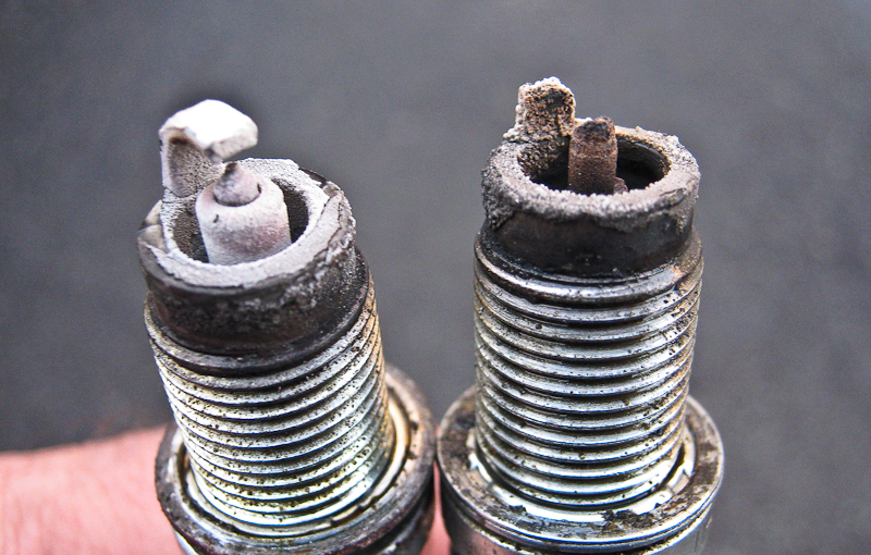 A Really Ugly Spark Plug Pawlik Automotive Repair