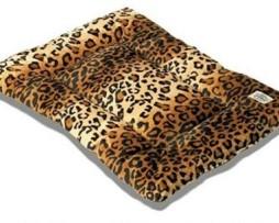 Leopard Sleep-ezz Dog Crate Mat - Large