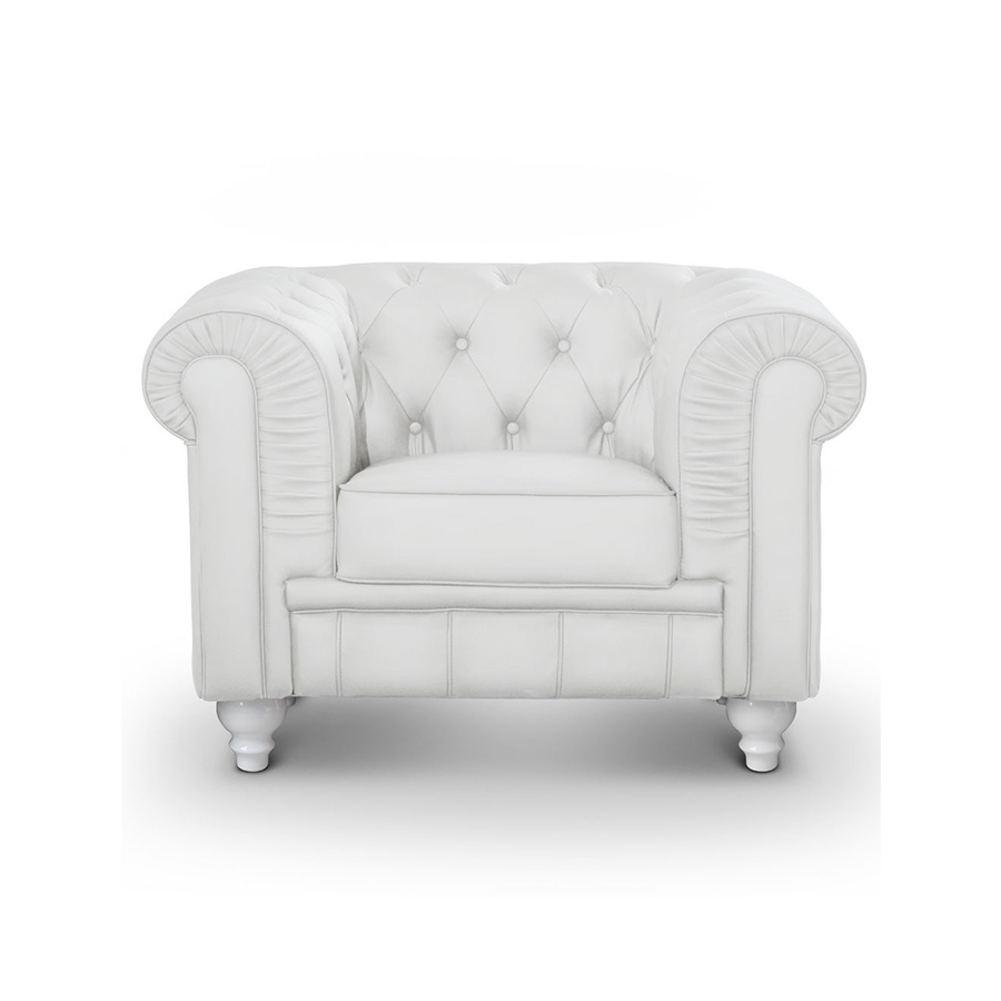 Fauteuil Chesterfield Fushia Fauteuil Chesterfield Simili Cuir Blanc