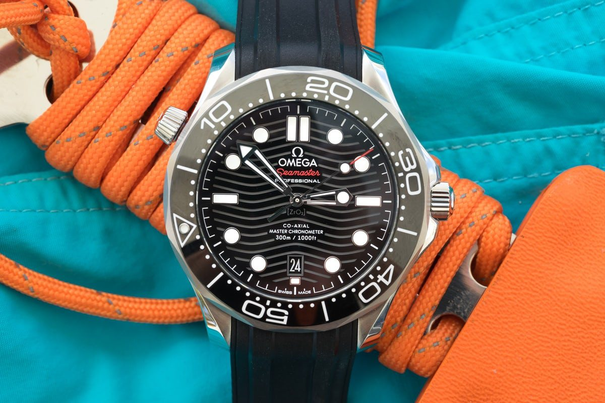 Movement Replica Swiss Watch In Depth Diving With The Omega Seamaster Professional 300m Swiss