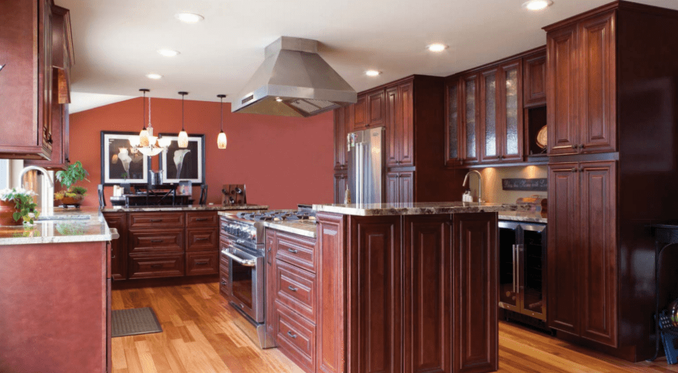 Images Of Rustic Mahogany Cabinets In Kitchens Traditional Kitchen Cabinets - Payless Kitchen Cabinets