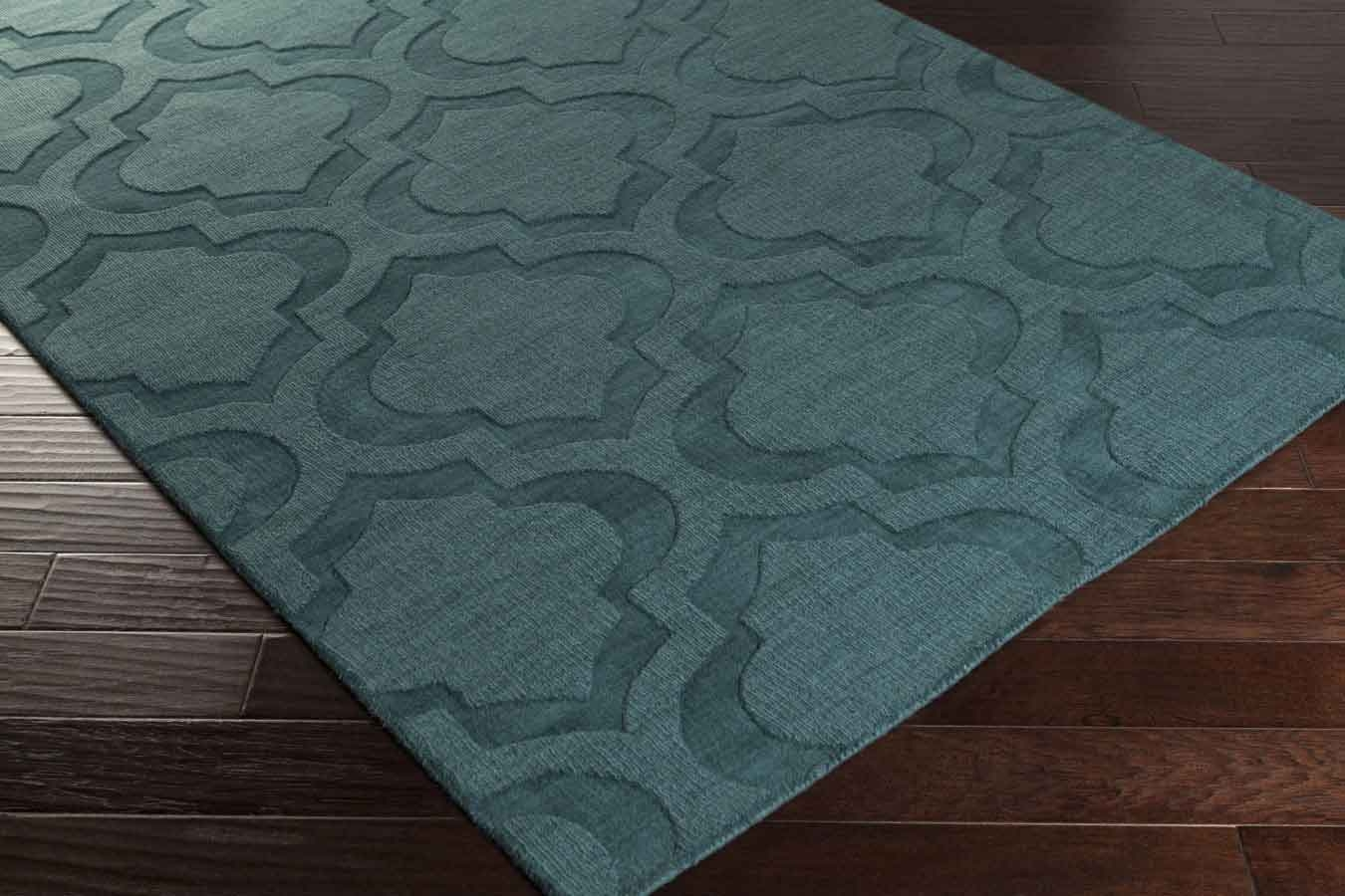 Teal Color Area Rugs Artistic Weavers Central Park Kate Awhp4010 Teal Area Rug