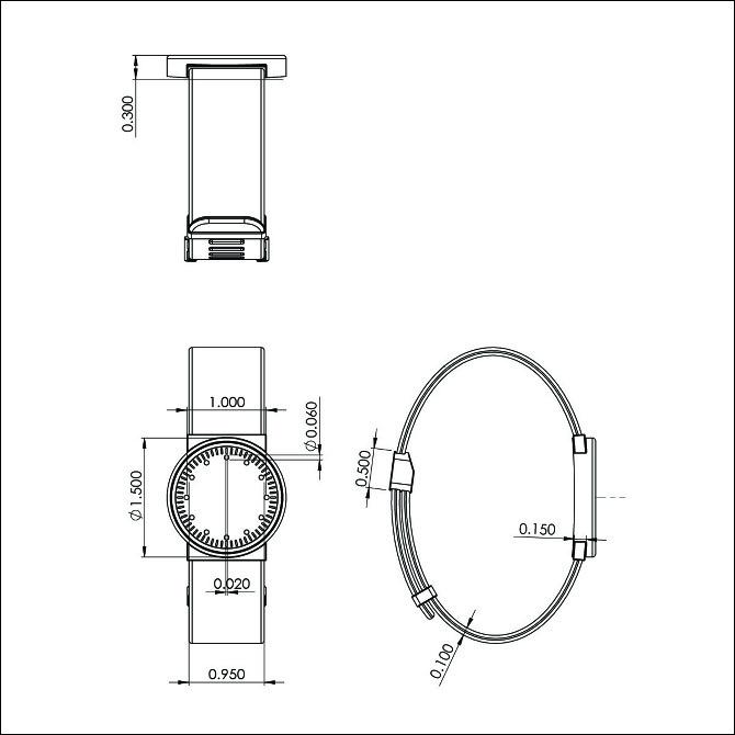 Minimal watch brian kuchler industrial design