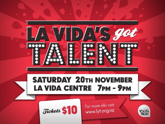 La Vida\u0027s Got Talent - DECADE DESIGN CO - talent show flyer