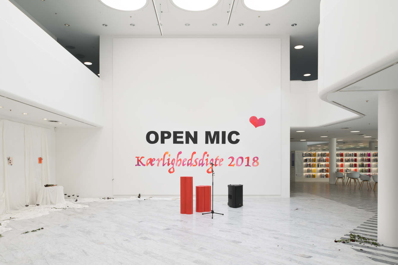 Art Garage Open Mic Open Mic Love Poems 2018 Ditte Gantriis