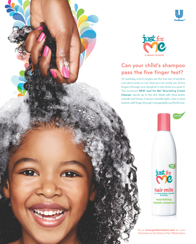 JUST FOR ME HAIR MILK LAUNCH CAMPAIGN - Le Petit Livre de Leah