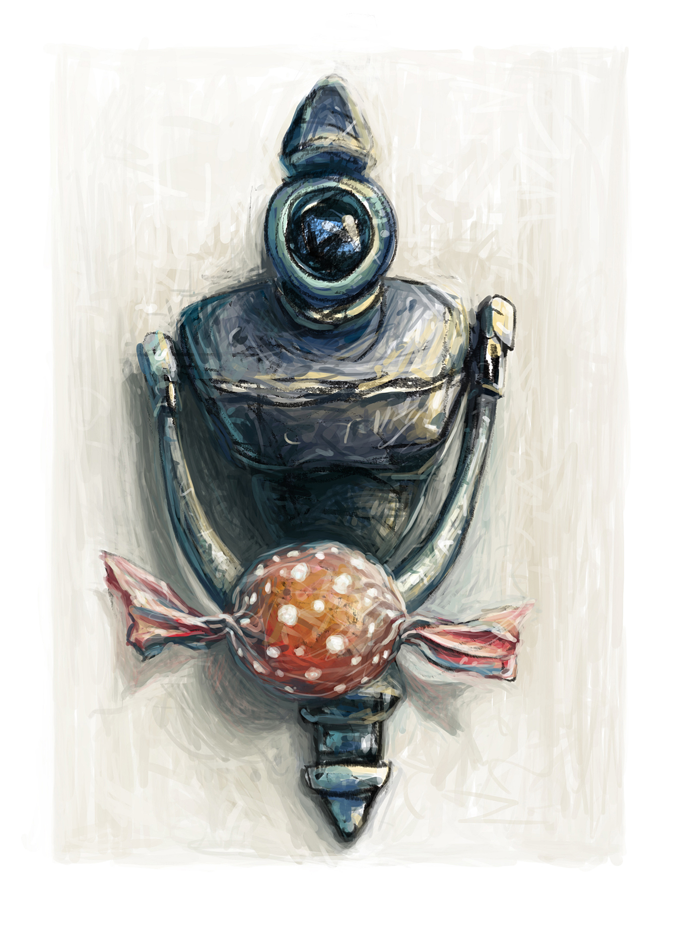 Turtle Door Knocker My Door Knocker Chih Illustration