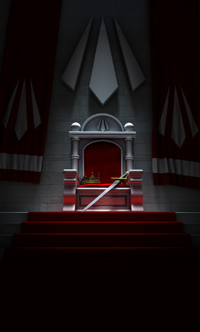 3d Virus Wallpaper Empty Throne 3d Alex Rennie New Media Designer