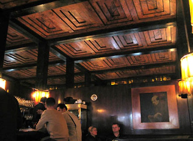 Contemporary Ceiling Lights Kärntner Bar - Adolf Loos And The Secession