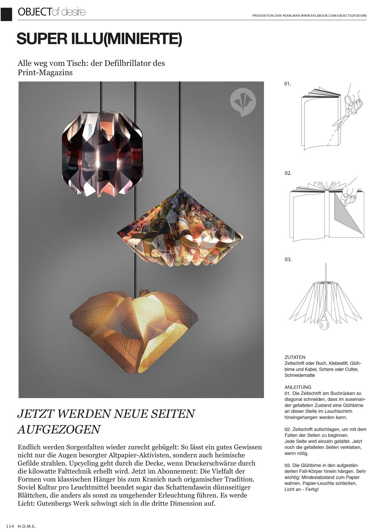 Do It Yourself Zeitschrift Objects Of Desire Monthly Column For H O M E Magazine