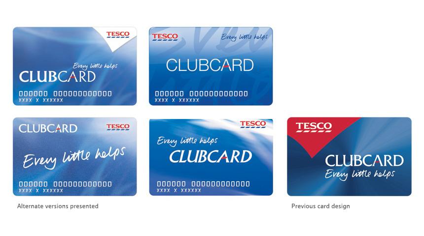 Tesco Clubcard - Redesign - Peter Aston - club card design
