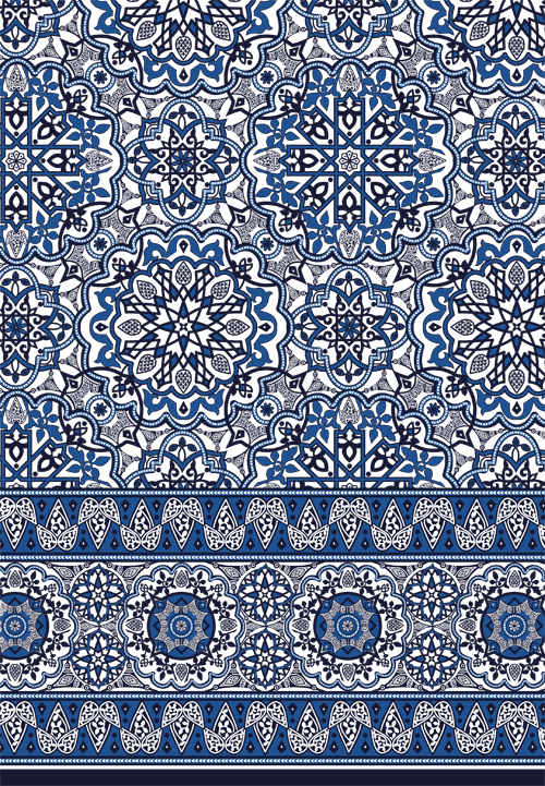 Moroccan Tile Border Sophia Baker