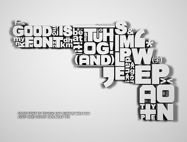 GOOD FONT IS WEAPONjpg (600×455) logo designs Pinterest - what is a good resume title