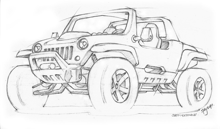 Hurricane concept for the Jeep coloring book Jeep Coloring Book - printable christmas wish list template