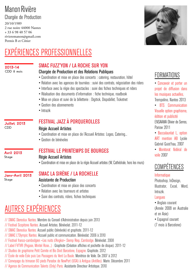 curriculum vitae english cover letter