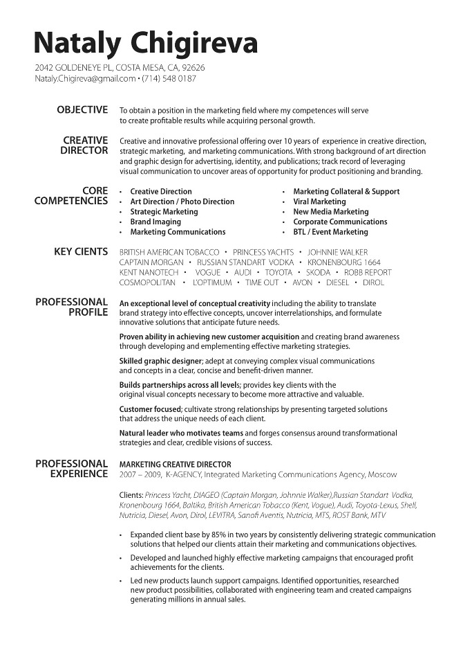 IJMRHS International Journal of Medical Research  Health Sciences - sample art director resume
