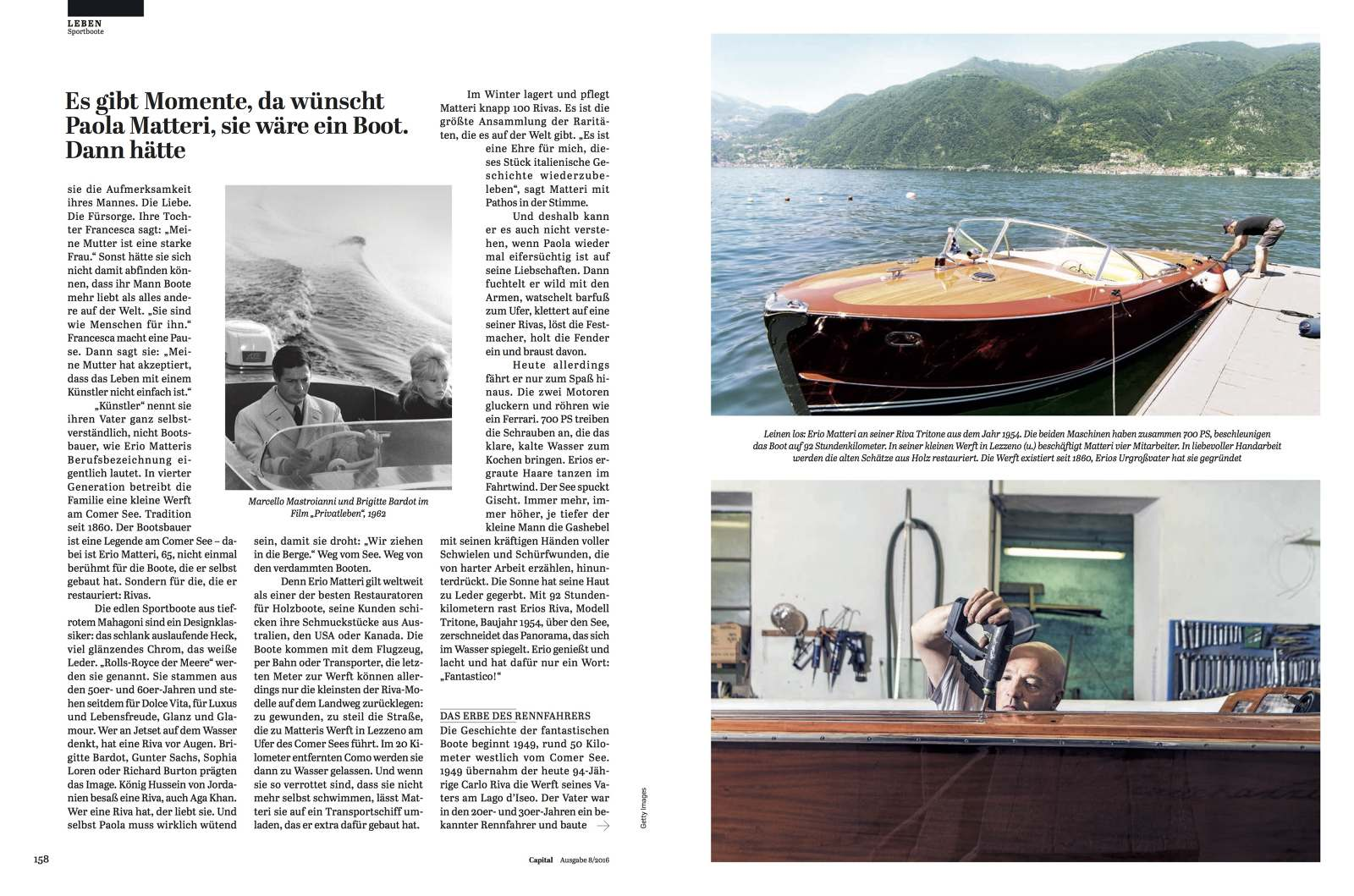 Kettler Riva Tearsheet Luca Locatelli Photographs Riva Italia For Capital