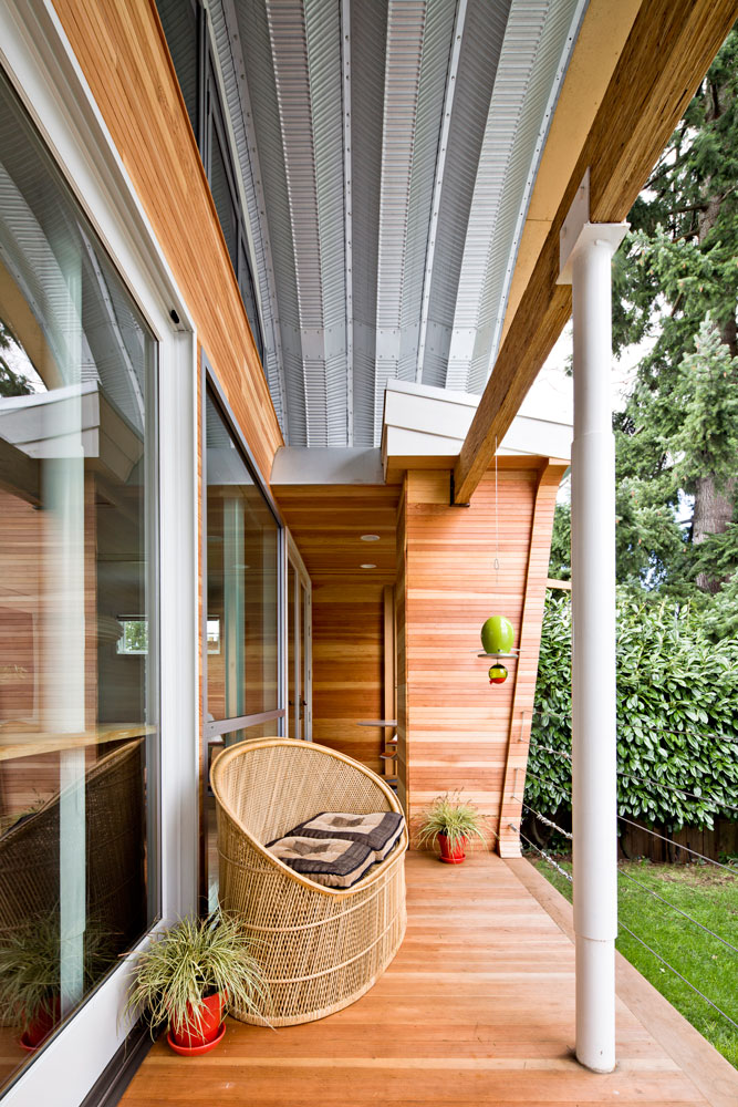 Micro Apartment Portland Eyebrow House - Doon Architecture