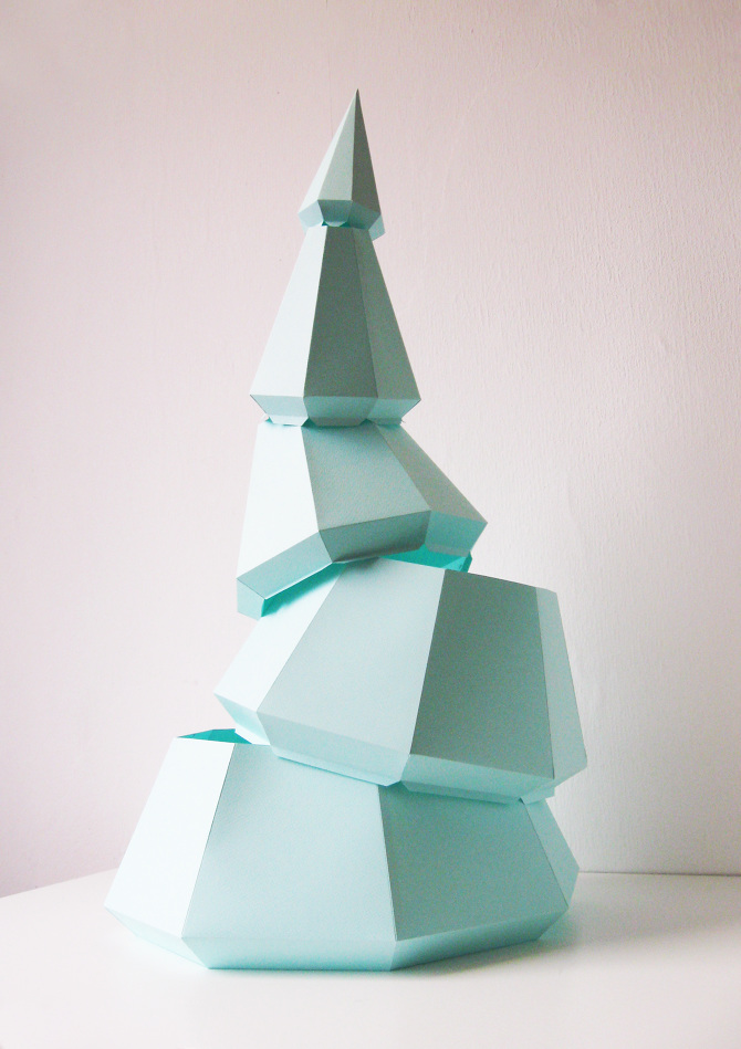 Paper Collective Sustainable Diy Christmas Tree - Assembli