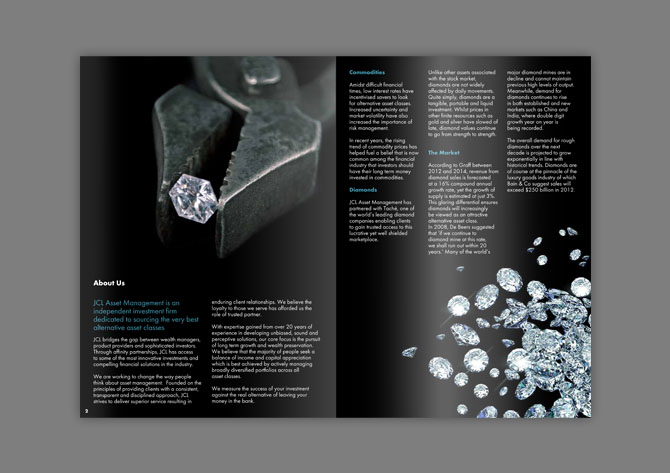 Diamond brochure Collection Pinterest Brochures - advertisement brochure