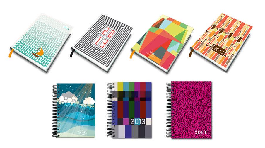 Letts Diary - Petra Blahova - diary design