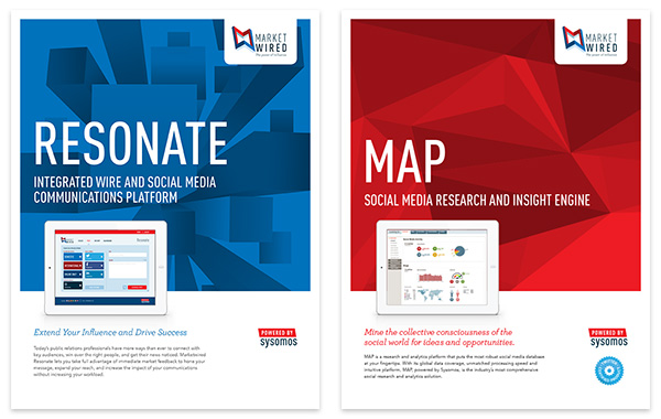 Marketwired Product Brochures - pcw design peter c wong
