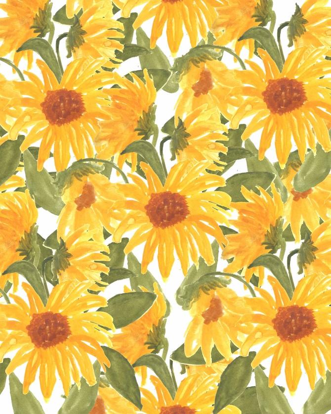 Fall Leaves Wallpaper Border Floral Prints Bouffants Amp Broken Hearts
