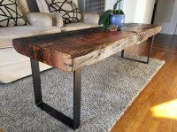 Torched Old-Growth Douglas Fir Bench // Coffee Table ...