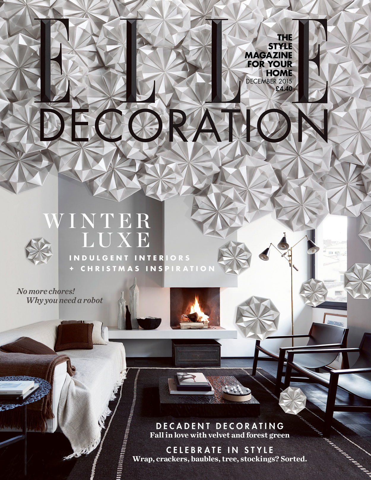 Decoration Elle Elle Decoration Christmas Cover Nick Rochowski Photography